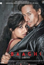 Baaghi: A Rebel For Love (2016) (DVDRip) - New BollyWood Movies