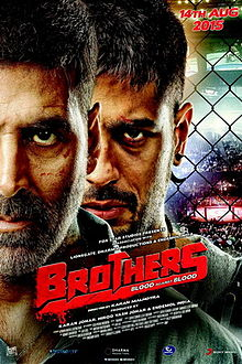 Brothers (2015) (DVD Rip) - New BollyWood Movies