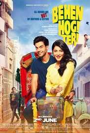 Behen Hogi Teri (2017) (DVD Rip) - New BollyWood Movies